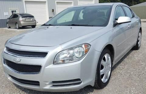 2010 Chevrolet Malibu for sale at Hilltop Auto in Prescott MI