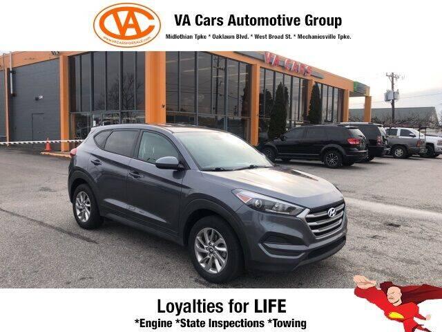 2017 Hyundai Tucson for sale at VA Cars Inc in Richmond VA