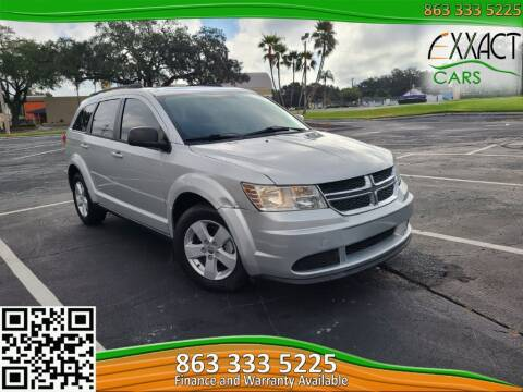 2013 Dodge Journey for sale at Exxact Cars in Lakeland FL