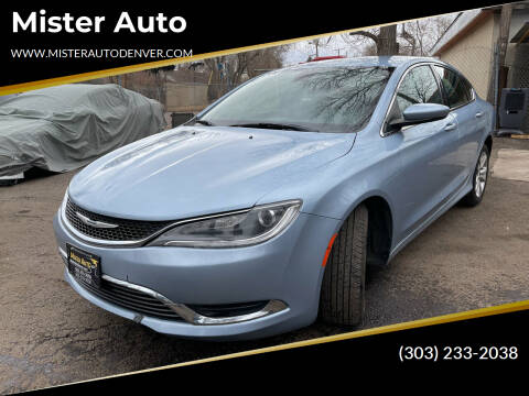 2015 Chrysler 200 for sale at Mister Auto in Lakewood CO