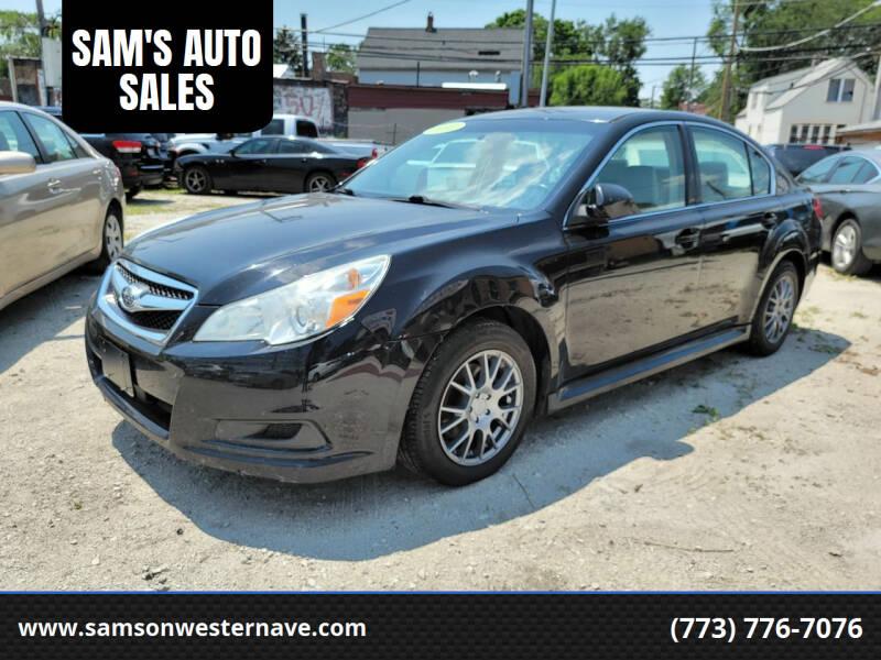 2012 Subaru Legacy for sale at SAM'S AUTO SALES in Chicago IL