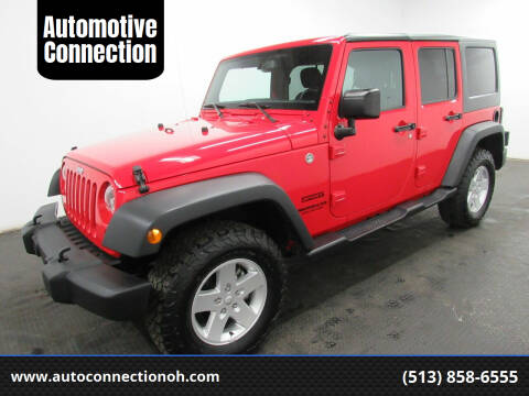 2017 Jeep Wrangler Unlimited for sale at Automotive Connection in Fairfield OH