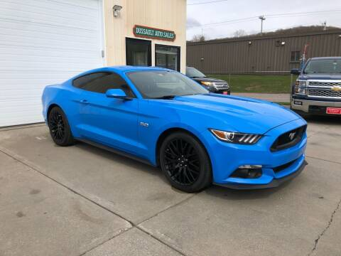 2017 Ford Mustang for sale at Dussault Auto Sales in Saint Albans VT