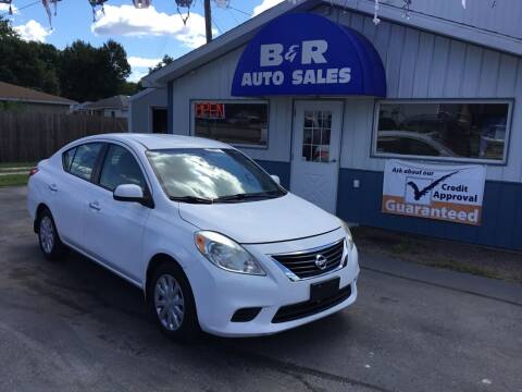 2012 Nissan Versa for sale at B & R Auto Sales in Terre Haute IN