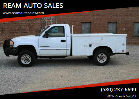 2007 GMC Sierra 2500HD Classic for sale at REAM AUTO SALES in Enid OK