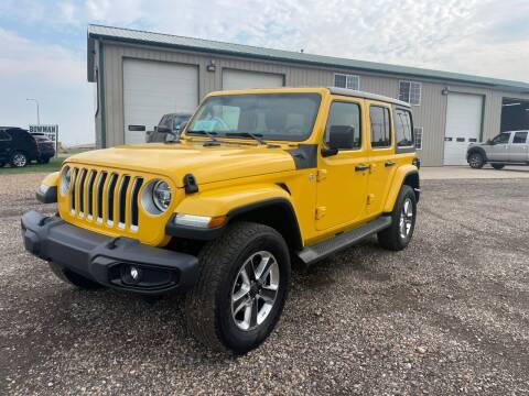 2019 Jeep Wrangler Unlimited for sale at Northern Car Brokers in Belle Fourche SD