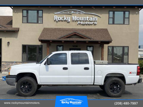 2005 Chevrolet Silverado 1500 for sale at Rocky Mountain Motors in Idaho Falls ID