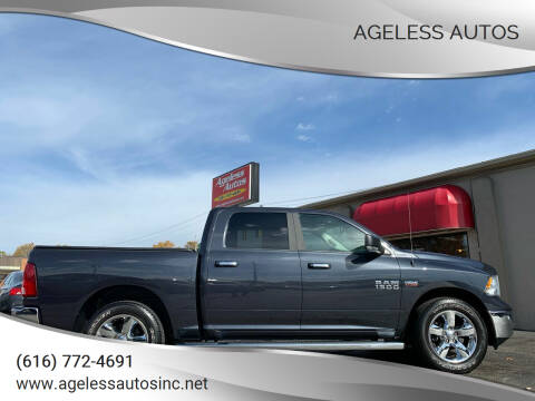 2018 RAM Ram Pickup 1500 for sale at Ageless Autos in Zeeland MI