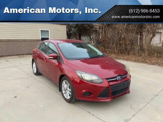 2013 Ford Focus for sale at American Motors, Inc. in Farmington MN