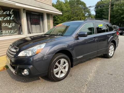 2013 Subaru Outback for sale at Real Deal Auto Sales in Auburn ME
