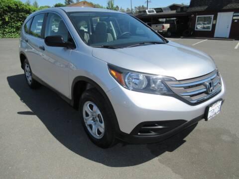 2014 Honda CR-V for sale at Tonys Toys and Trucks in Santa Rosa CA