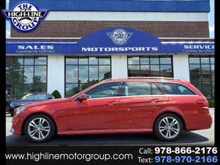 2014 Mercedes-Benz E-Class for sale at Highline Group Motorsports in Lowell MA