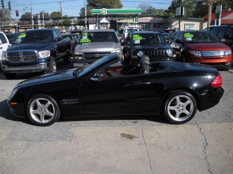 2006 Mercedes-Benz SL-Class for sale at Bob Boruff Auto Sales in Kokomo IN