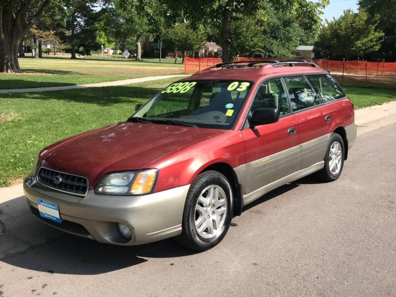 2003 Subaru Outback for sale at 303Auto.com in Denver CO