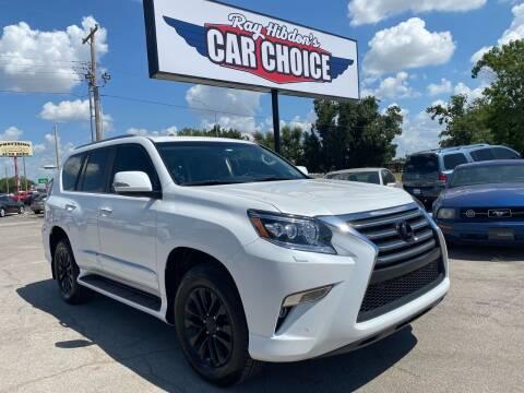 2019 Lexus GX 460 for sale at Ray Hibdon's Car Choice in Oklahoma City OK
