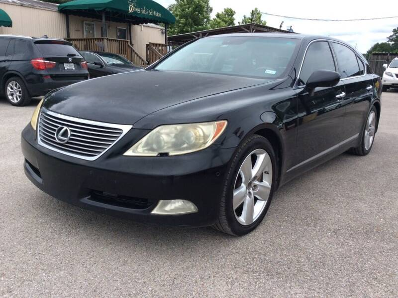 2007 Lexus LS 460 for sale at OASIS PARK & SELL in Spring TX