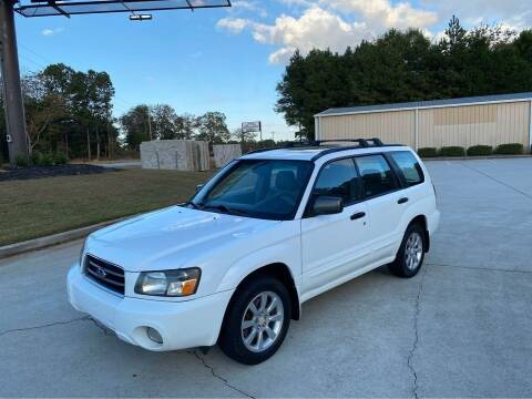 2005 Subaru Forester for sale at Two Brothers Auto Sales in Loganville GA