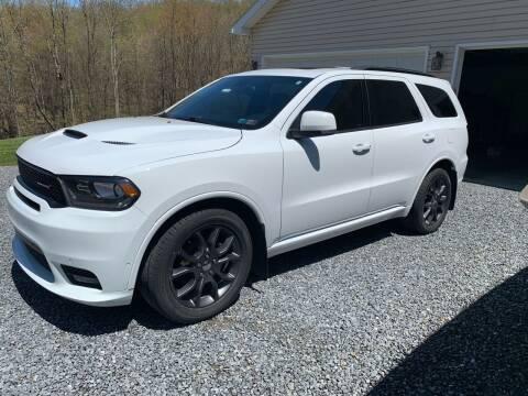 2018 Dodge Durango for sale at Advantage Auto Sales in Johnstown PA