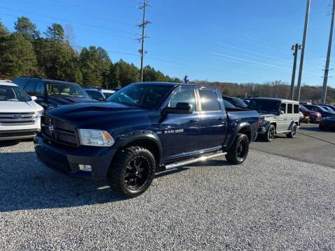 2012 RAM Ram Pickup 1500 for sale at Billy Ballew Motorsports in Dawsonville GA