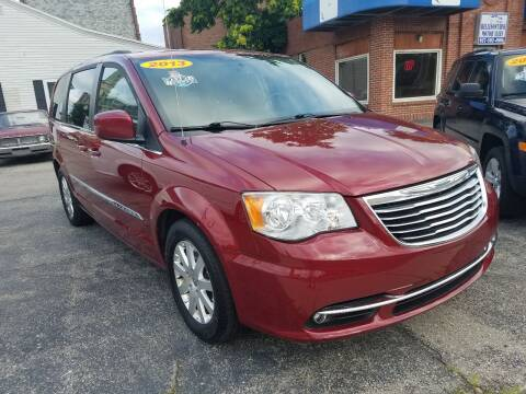 2013 Chrysler Town and Country for sale at BELLEFONTAINE MOTOR SALES in Bellefontaine OH