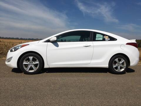 2013 Hyundai Elantra Coupe for sale at M AND S CAR SALES LLC in Independence OR