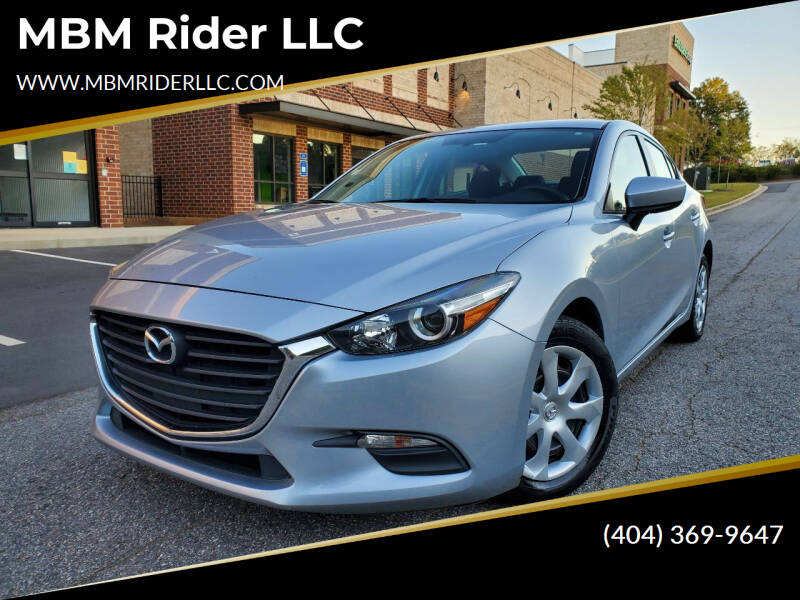 2017 Mazda MAZDA3 for sale at MBM Rider LLC in Alpharetta GA
