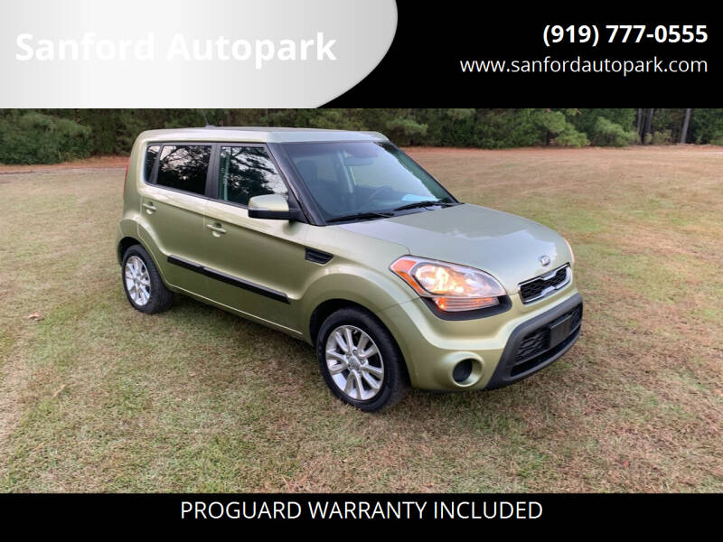 2013 Kia Soul for sale at Sanford Autopark in Sanford NC