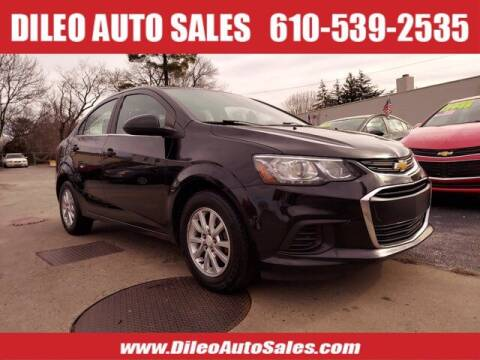 2017 Chevrolet Sonic for sale at Dileo Auto Sales in Norristown PA