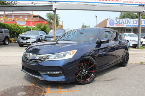 2016 Honda Accord for sale at MIKEY AUTO INC in Hollis NY