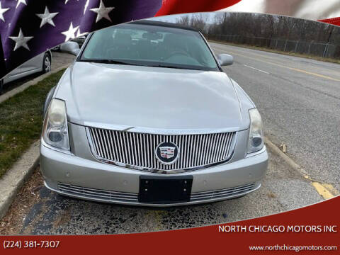 2007 Cadillac DTS for sale at NORTH CHICAGO MOTORS INC in North Chicago IL