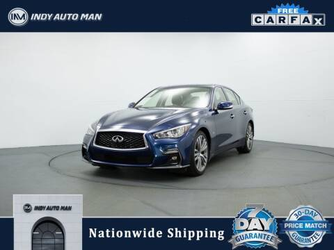 2018 Infiniti Q50 for sale at INDY AUTO MAN in Indianapolis IN
