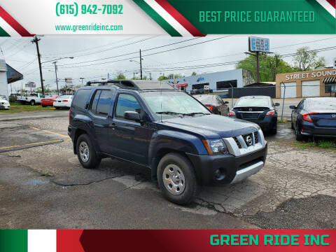 2006 Nissan Xterra for sale at Green Ride Inc in Nashville TN