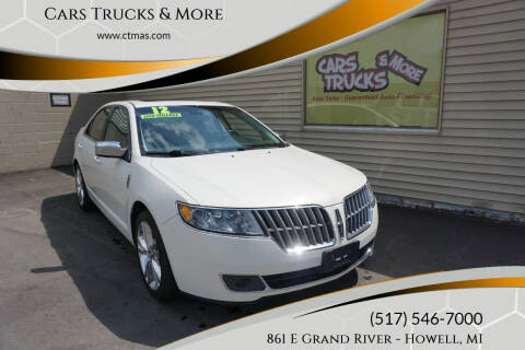 2012 Lincoln MKZ for sale at Cars Trucks & More in Howell MI