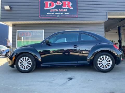 2012 Volkswagen Beetle for sale at D & R Auto Sales in South Sioux City NE