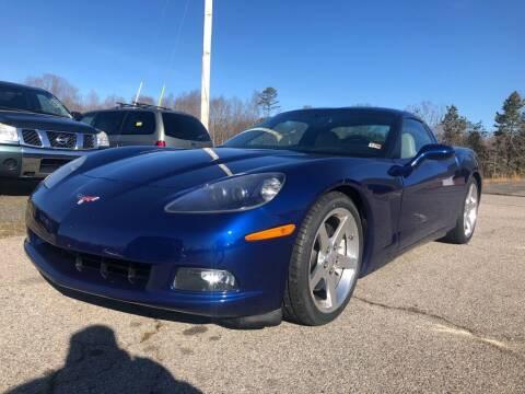 2005 Chevrolet Corvette for sale at Doug's Auto Sales in Danville VA
