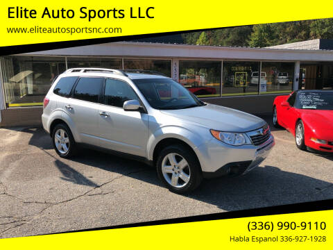 2009 Subaru Forester for sale at Elite Auto Sports LLC in Wilkesboro NC