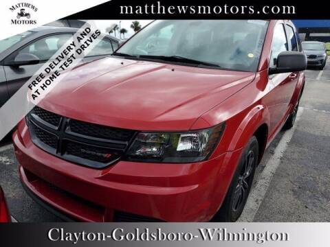 2018 Dodge Journey for sale at Auto Finance of Raleigh in Raleigh NC