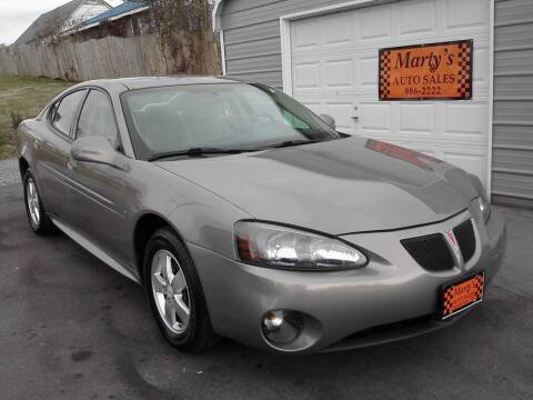 2007 Pontiac Grand Prix for sale at Marty's Auto Sales in Lenoir City TN