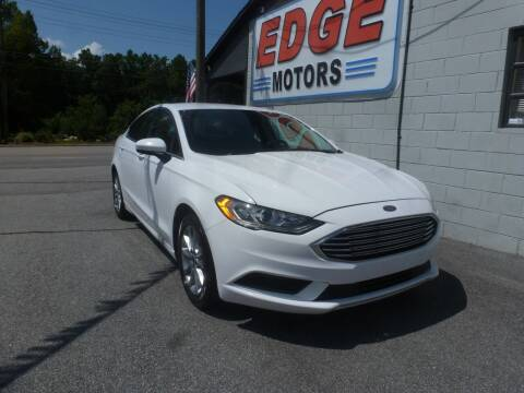 2017 Ford Fusion for sale at Edge Motors in Mooresville NC