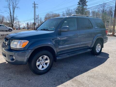 2006 Toyota Sequoia for sale at Old Trail Auto Sales in Etters PA