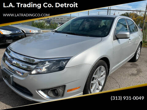 2010 Ford Fusion for sale at L.A. Trading Co. Woodhaven - L.A. Trading Co. Detroit in Detroit MI