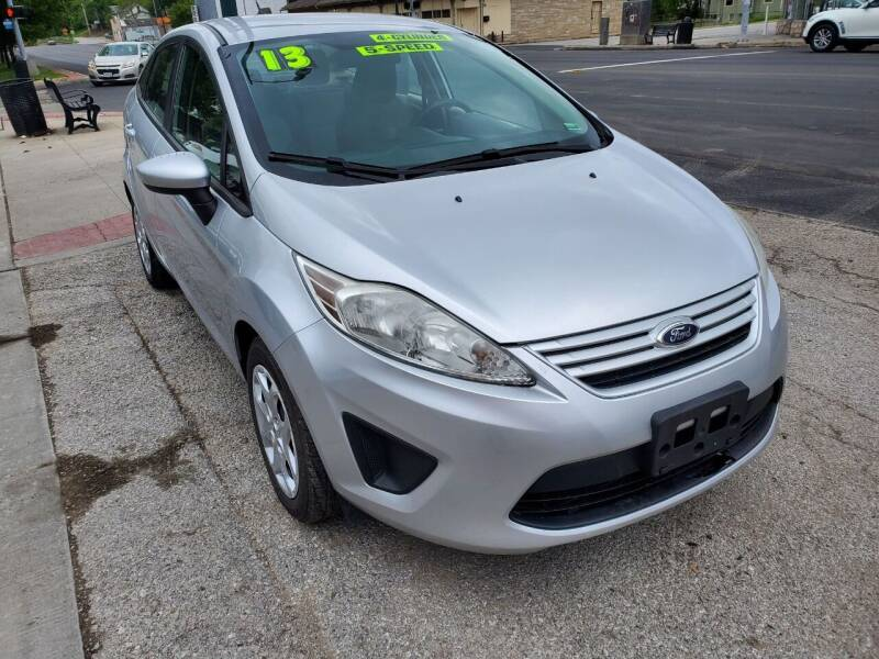 2013 Ford Fiesta for sale at Street Side Auto Sales in Independence MO