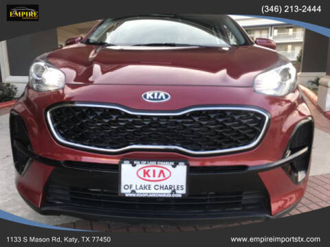 2020 Kia Sportage for sale at EMPIREIMPORTSTX.COM in Katy TX