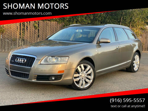 2006 Audi Allroad for sale at SHOMAN MOTORS in Davis CA