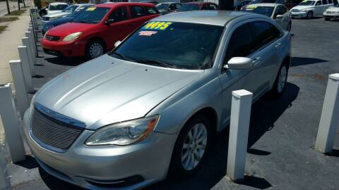 2011 Chrysler 200 for sale at AFFORDABLE AUTO SALES in Saint Petersburg FL