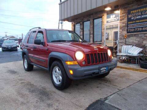 2007 Jeep Liberty for sale at Preferred Motor Cars of New Jersey in Keyport NJ