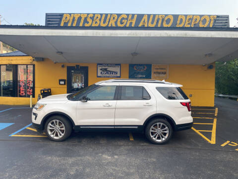 2018 Ford Explorer for sale at Pittsburgh Auto Depot in Pittsburgh PA