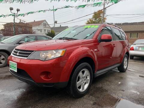 2009 Mitsubishi Outlander for sale at Barnes Auto Group in Chicago IL