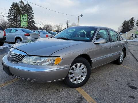 1999 Lincoln Continental for sale at J's Auto Exchange in Derry NH