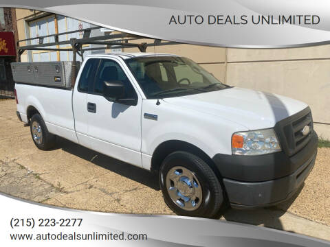 2006 Ford F-150 for sale at AUTO DEALS UNLIMITED in Philadelphia PA